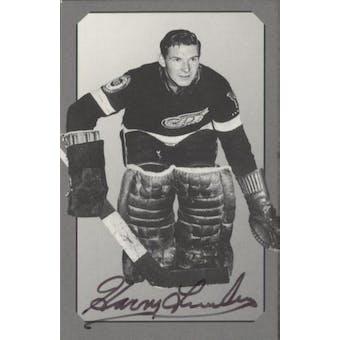 Parkhurst Pre-Parkie Harry Lumley Autographed Card #/1000