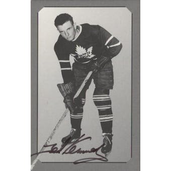 Parkhurst Pre-Parkie Ted Kennedy Autographed Card #/500