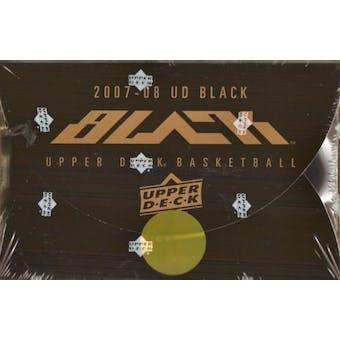 2007/08 Upper Deck Black Basketball Hobby Box