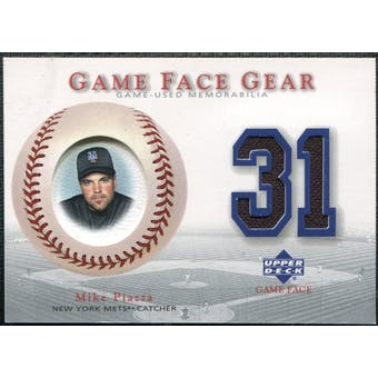 2003 Upper Deck Game Face Gear #MPI Mike Piazza