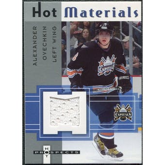 2005/06 Fleer Hot Prospects Hot Materials #HMAO Alexander Ovechkin
