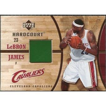 2006/07 Upper Deck Hardcourt Game Floor #20 LeBron James