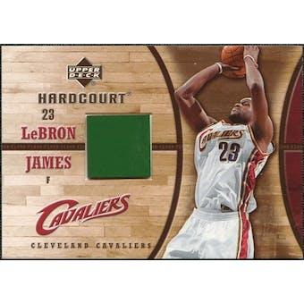 2006/07 Upper Deck Hardcourt Game Floor #23 LeBron James