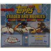 2002 Topps Chrome Traded & Rookies Baseball Jumbo Box (Reed Buy)