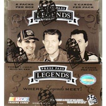 2007 Press Pass Legends Racing Hobby Box