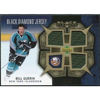 2007/08 Upper Deck Black Diamond Jerseys Gold Triple #BDJBG Bill Guerin /25