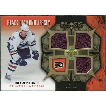 2007/08 Upper Deck Black Diamond Jerseys Gold Triple #BDJLU Joffrey Lupul /25