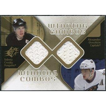 2007/08 Upper Deck SPx Winning Combos #WCCO Sidney Crosby Alexander Ovechkin