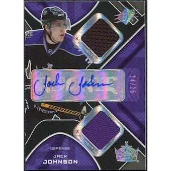 2007/08 Upper Deck SPx Spectrum #213 Jack Johnson Jersey Autograph /25