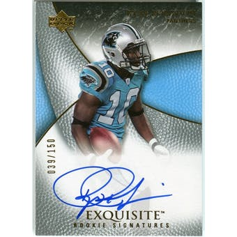 2007 Upper Deck Exquisite Collection #99 Ryne Robinson RC RC Autograph /150