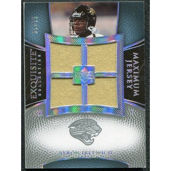 2007 Upper Deck Exquisite Collection Maximum Jersey Silver Spectrum #BL Byron Leftwich /15