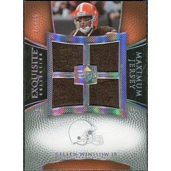 2007 Upper Deck Exquisite Collection Maximum Jersey Silver Spectrum #KW Kellen Winslow /15