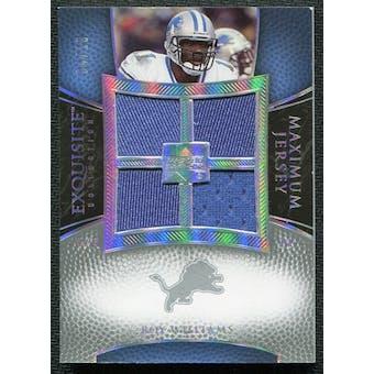 2007 Upper Deck Exquisite Collection Maximum Jersey Silver Spectrum #RW Roy Williams WR /15