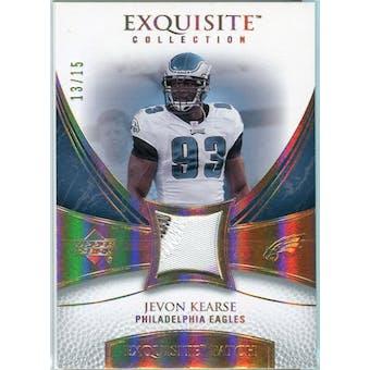 2007 Upper Deck Exquisite Collection Patch Spectrum #JK Jevon Kearse 13/15