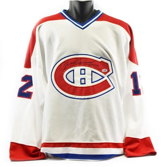 Yvan Cournoyer Montreal Canadiens Starter Jersey Autograph PSA COA #D96058 (Reed Buy)