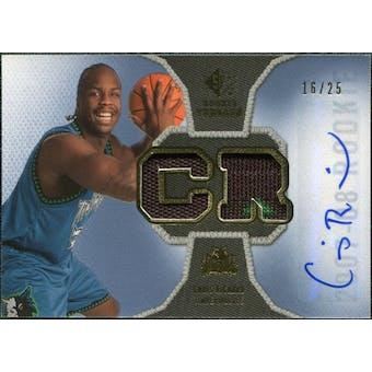 2007/08 Upper Deck SP Rookie Threads Patch Autographs #RTCR Chris Richard /25