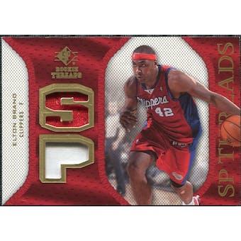 2007/08 Upper Deck SP Rookie Threads Patch #SPEB Elton Brand