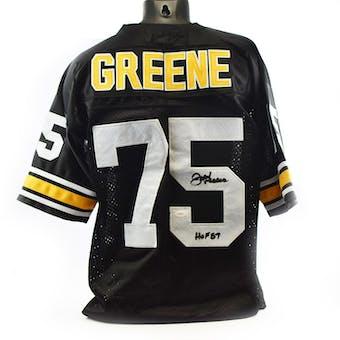 Joe Greene Pittsburgh Steelers Custom Jersey (HOF 87) JSA COA #W77366 (Reed Buy)