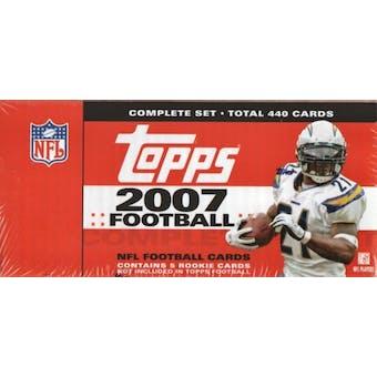 2007 Topps Football Factory Set (Box)