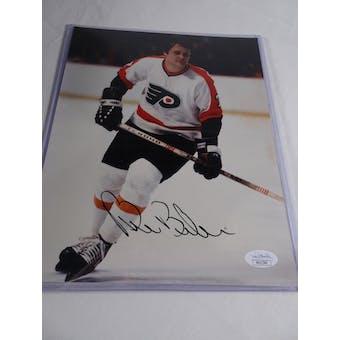 Bill Barber Philadelphia Flyers Autographed Hockey 8x10 Photo JSA COA #HH11546 (Reed Buy)