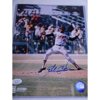 Mike Cuellar Baltimore Orioles Autographed Baseball 8x10 Photo JSA COA #HH11554 (Reed Buy)