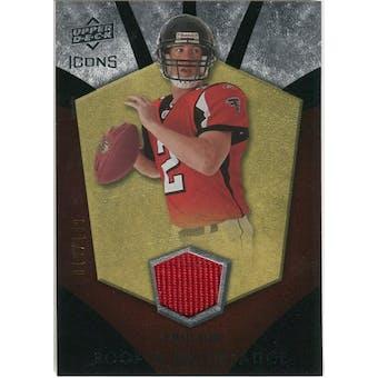 2008 Upper Deck Icons Rookie Brilliance Jersey Silver #RB29 Matt Ryan /199