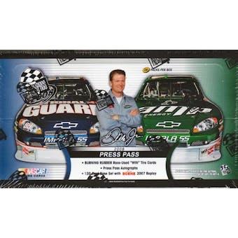 2008 Press Pass Racing Hobby Box