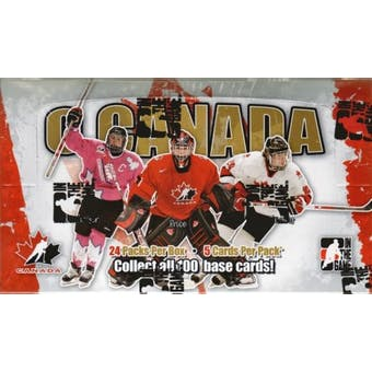 2007/08 In The Game O Canada Hockey Hobby Box