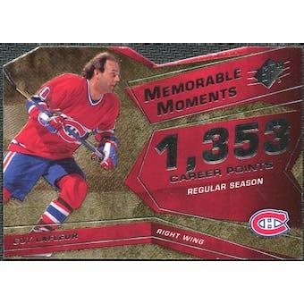2008/09 Upper Deck SPx Memorable Moments #MMGL Guy Lafleur