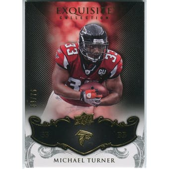 2008 Upper Deck Exquisite Collection #5 Michael Turner /75