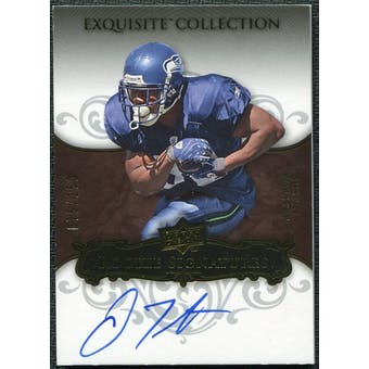 2008 Upper Deck Exquisite Collection #132 Justin Forsett RC Autograph 75/150