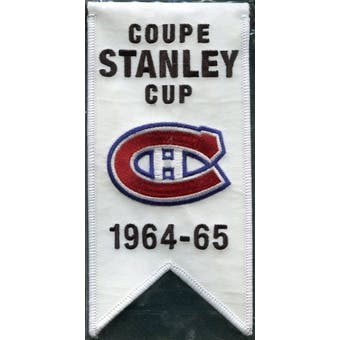 2008/09 Upper Deck Montreal Canadiens Mini Banners 1964-65 Stanley Cup