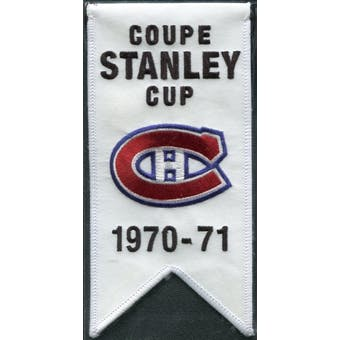 2008/09 Upper Deck Montreal Canadiens Mini Banners 1970-71 Stanley Cup