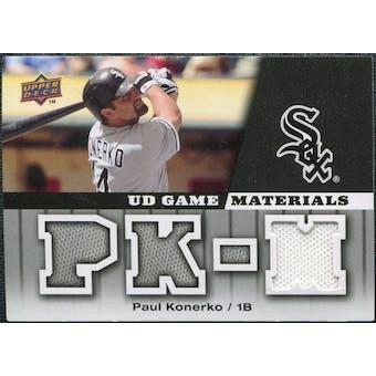 2009 Upper Deck UD Game Materials #GMPK Paul Konerko