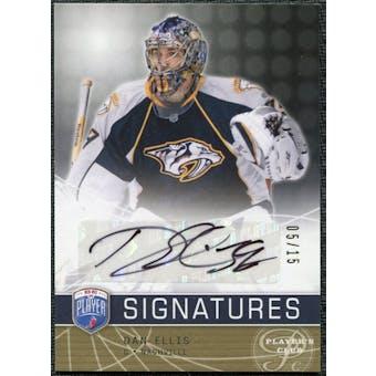 2008/09 Upper Deck Be A Player Signatures Player's Club #SDE Dan Ellis Autograph /15