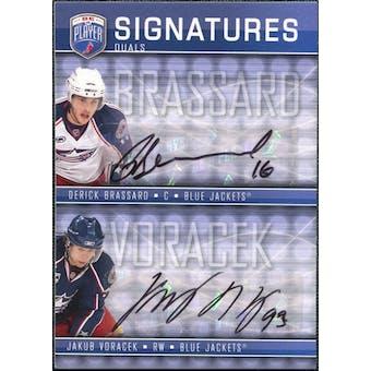 2008/09 Upper Deck Be A Player Signatures Dual #S2BV Jakub Voracek / Derick Brassard Autograph