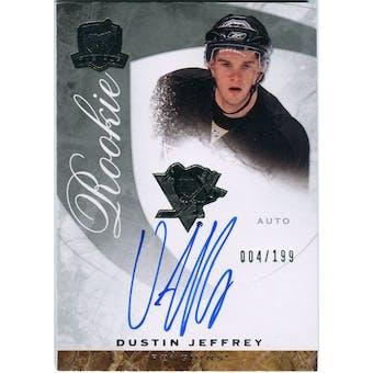 2008/09 Upper Deck The Cup #71 Dustin Jeffrey Autograph /199