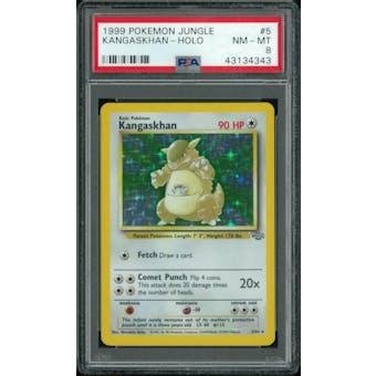 Pokemon Jungle Kangaskhan 5/64 PSA 8