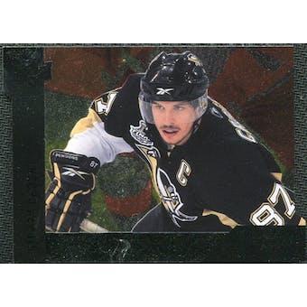 2009/10 Upper Deck Black Diamond Horizontal Perimeter Die-Cut #BD23 Sidney Crosby SP