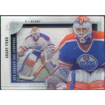 2009/10 Upper Deck SPx Shadowbox Stoppers #ST9 Grant Fuhr