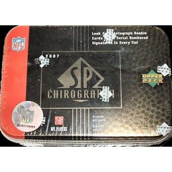 2007 Upper Deck SP Chirography Football Hobby Box