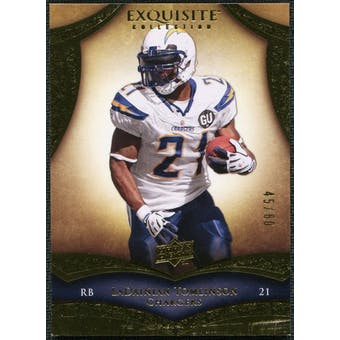2009 Upper Deck Exquisite Collection #6 LaDainian Tomlinson /80