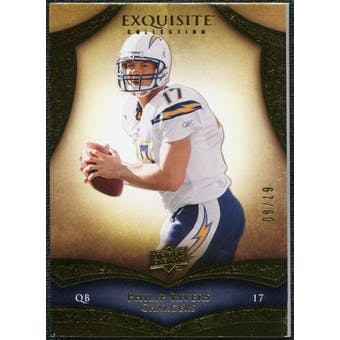 2009 Upper Deck Exquisite Collection #16 Philip Rivers /80