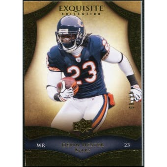 2009 Upper Deck Exquisite Collection #37 Devin Hester /80