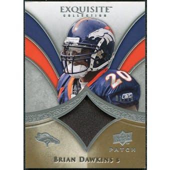 2009 Upper Deck Exquisite Collection Patch #PBD Brian Dawkins /75