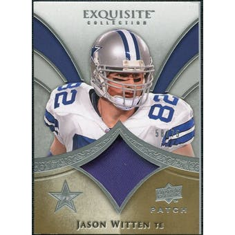 2009 Upper Deck Exquisite Collection Patch #PJW Jason Witten /75