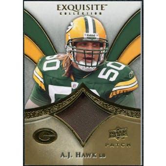 2009 Upper Deck Exquisite Collection Patch Gold #PAH A.J. Hawk /40
