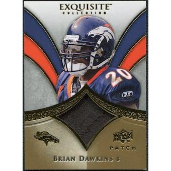 2009 Upper Deck Exquisite Collection Patch Gold #PBD Brian Dawkins /40