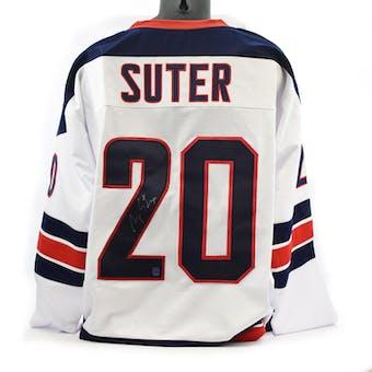 Ryan Suter Autographed USA White Hockey Jersey (DACW COA)