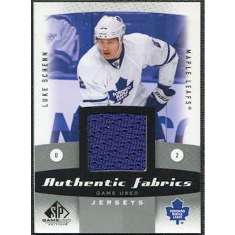 2010/11 Upper Deck SP Game Used Authentic Fabrics #AFLS Luke Schenn